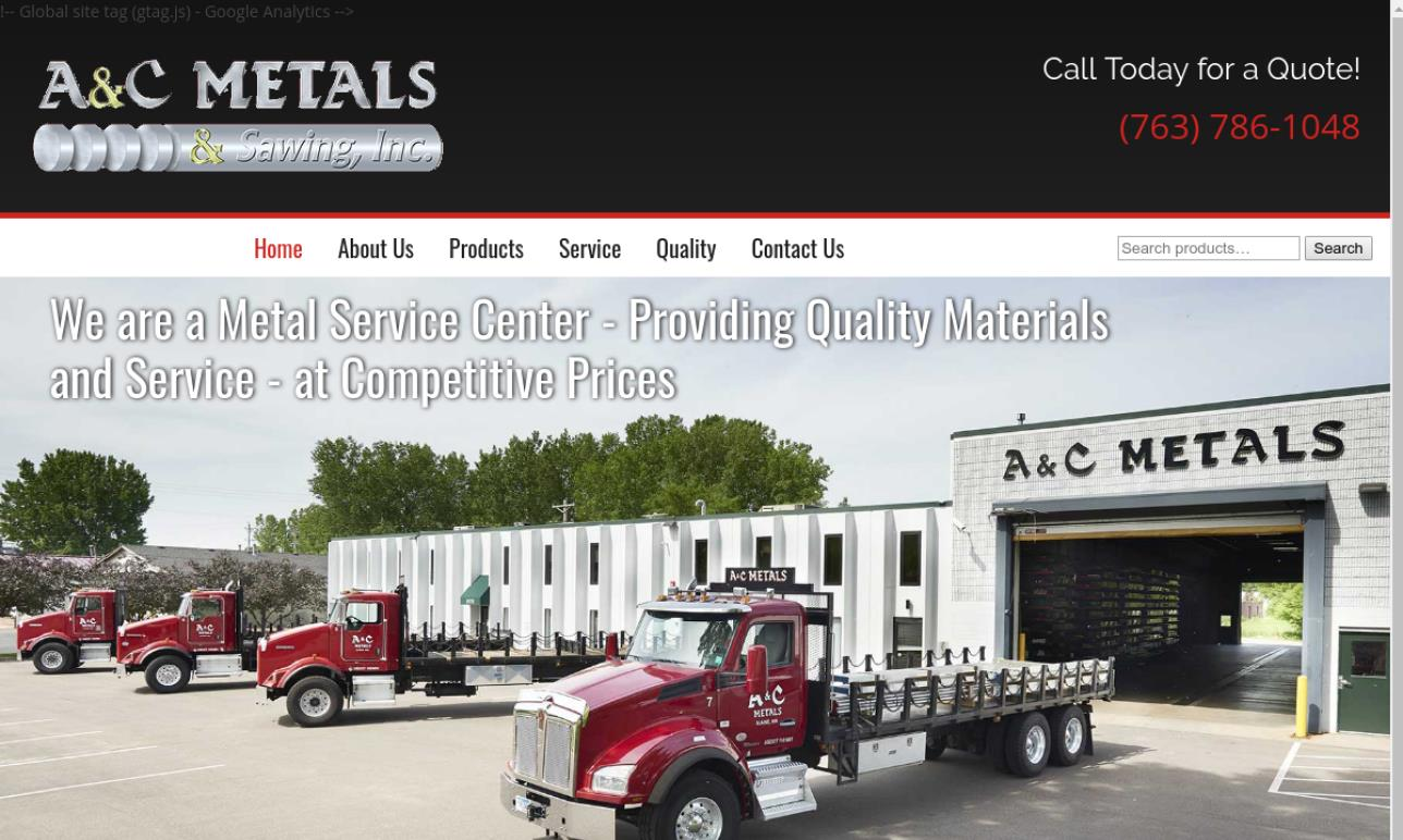 A & C Metals - Sawing, Inc.