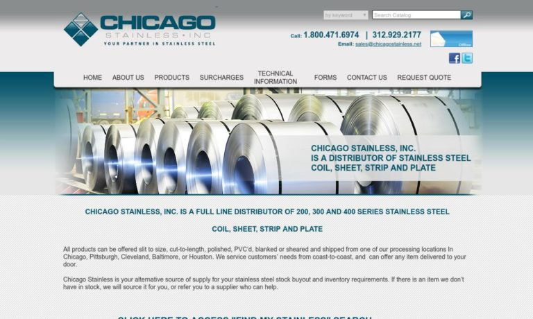 Chicago Stainless, Inc.