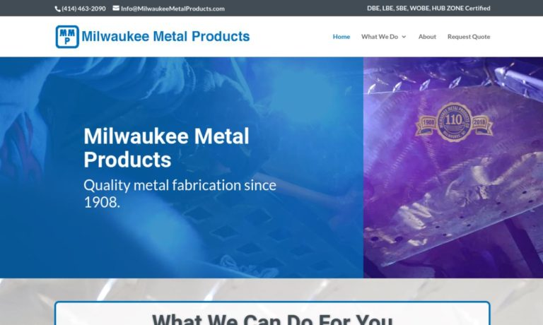 Milwaukee Metal Products, Inc.