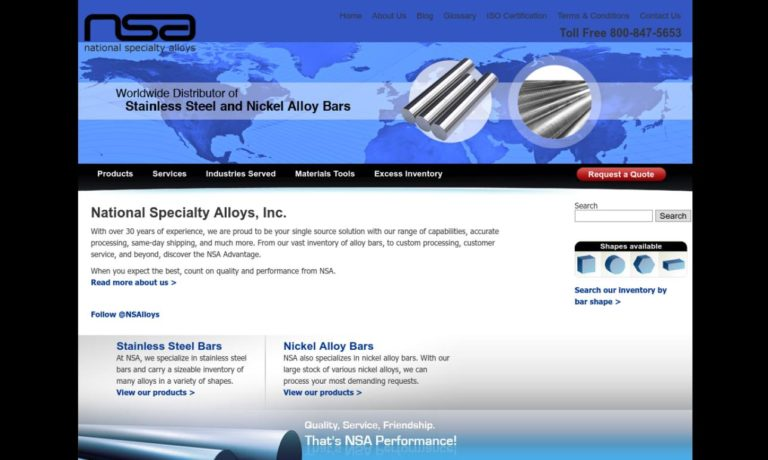 National Specialty Alloys, LLC