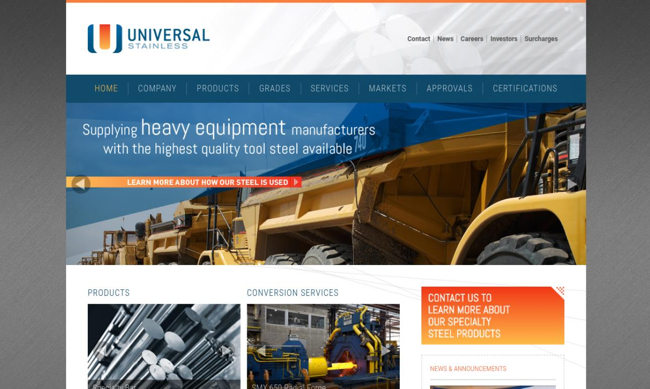 Universal Stainless & Alloy Products