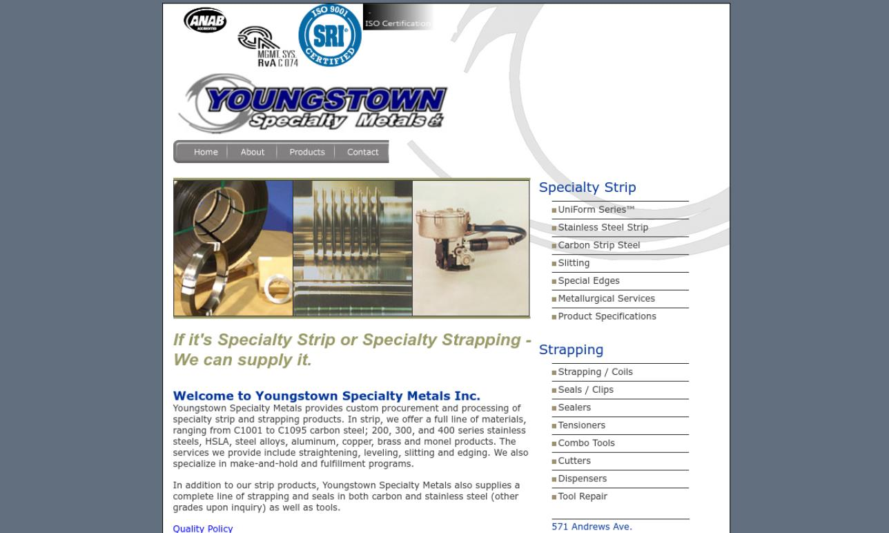 Youngstown Specialty Metals, Inc.