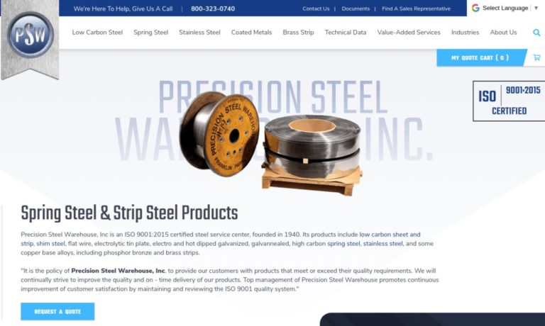 Precision Steel Warehouse, Inc.