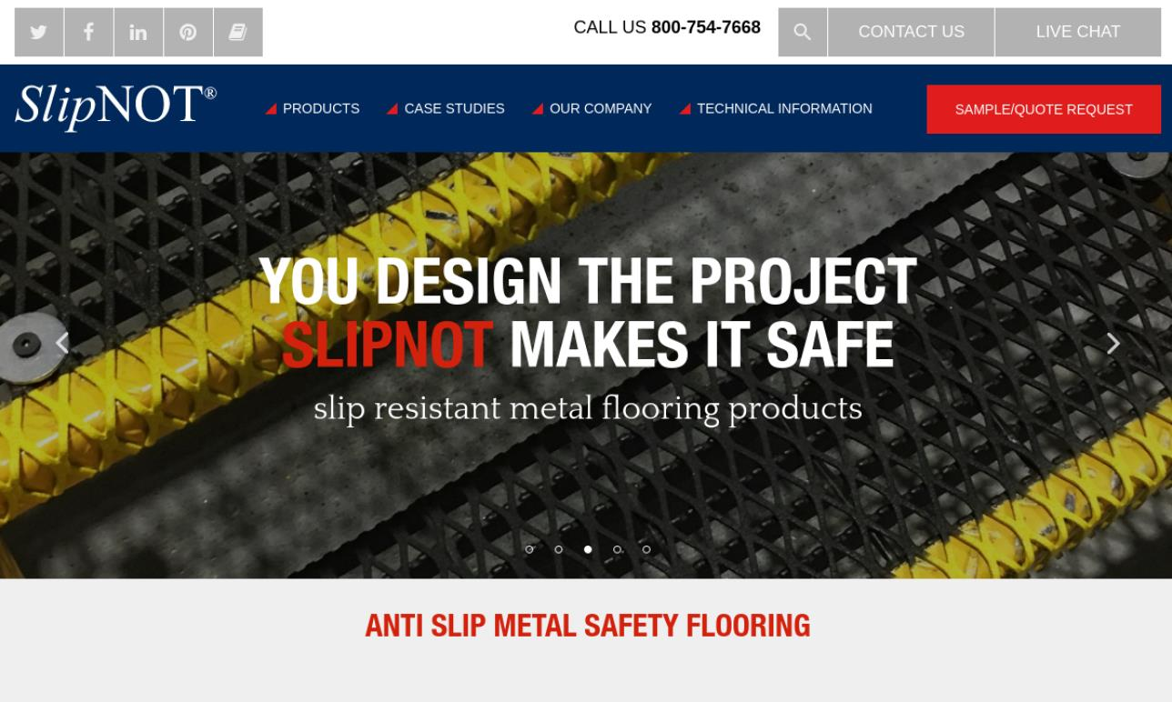 SlipNOT® Metal Safety Flooring