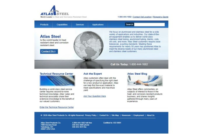 Atlas Steel Products Co.