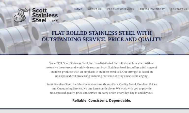 Scott Stainless Steel, Inc.